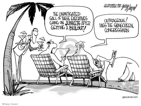 Cartoonist Gary Varvel  Gary Varvel's Editorial Cartoons 2009-02-09 economy