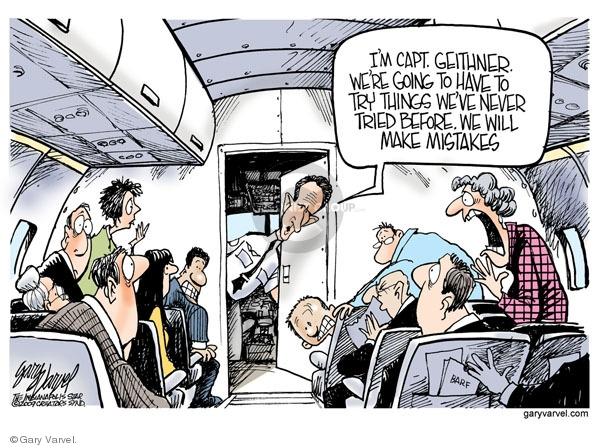 Cartoonist Gary Varvel  Gary Varvel's Editorial Cartoons 2009-02-12 recession