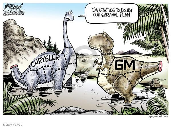 Cartoonist Gary Varvel  Gary Varvel's Editorial Cartoons 2009-02-19 recession