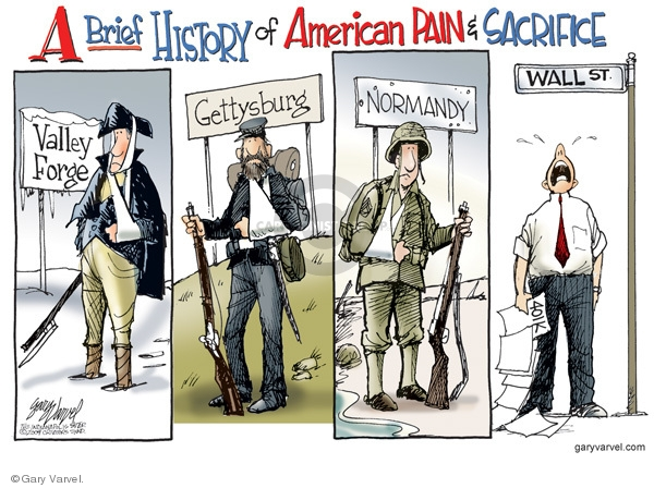 Gary Varvel  Gary Varvel's Editorial Cartoons 2009-02-25 revolutionary war