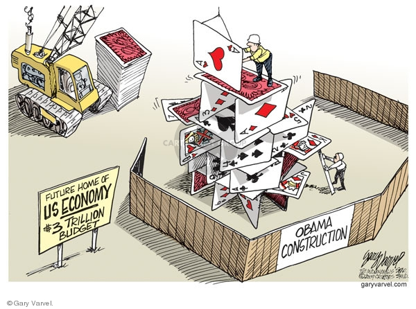 Cartoonist Gary Varvel  Gary Varvel's Editorial Cartoons 2009-03-02 construction