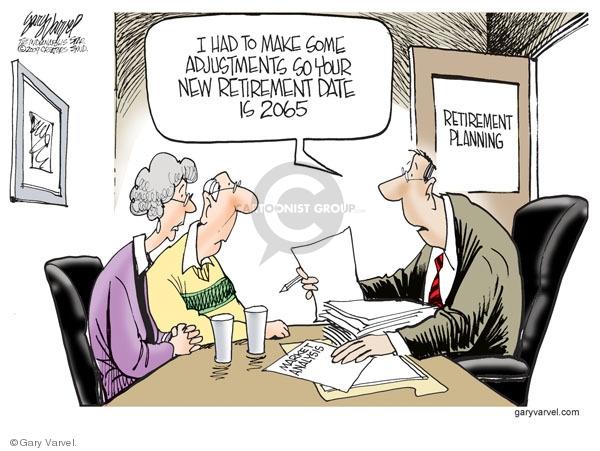 Cartoonist Gary Varvel  Gary Varvel's Editorial Cartoons 2009-03-02 economy