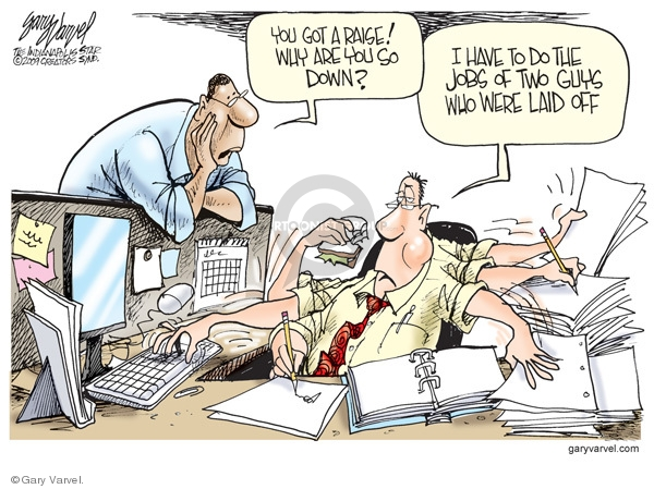 Cartoonist Gary Varvel  Gary Varvel's Editorial Cartoons 2009-03-04 attitude
