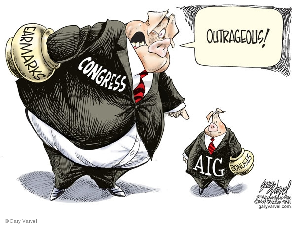 Cartoonist Gary Varvel  Gary Varvel's Editorial Cartoons 2009-03-19 economy