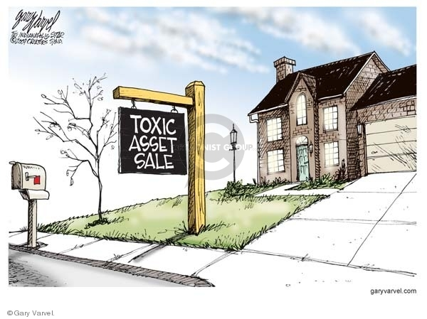 Toxic Asset Sale.  (Home for sale.)