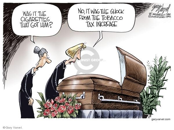 Cartoonist Gary Varvel  Gary Varvel's Editorial Cartoons 2009-04-03 economy