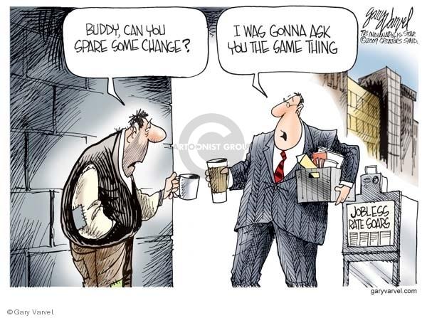 Cartoonist Gary Varvel  Gary Varvel's Editorial Cartoons 2009-04-07 economy