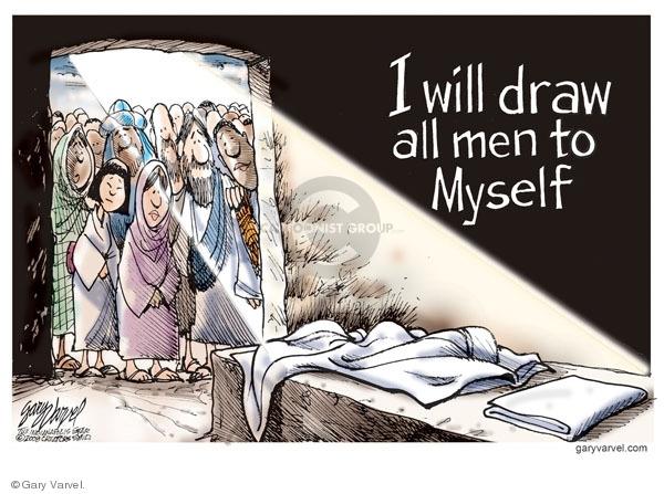 Cartoonist Gary Varvel  Gary Varvel's Editorial Cartoons 2009-04-10 resurrect
