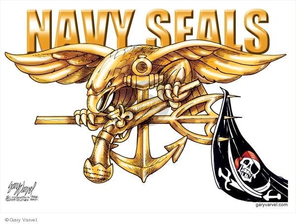 Cartoonist Gary Varvel  Gary Varvel's Editorial Cartoons 2009-04-14 seal