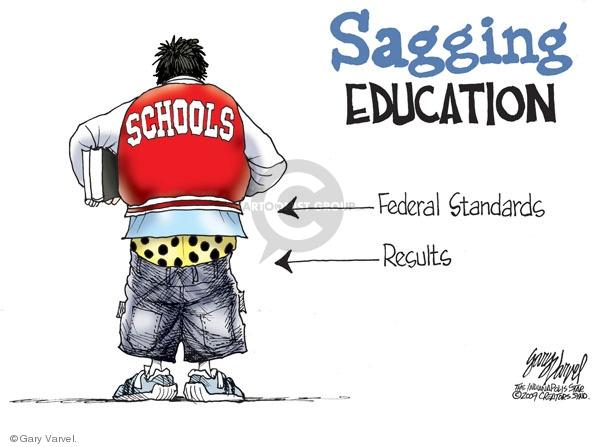 Cartoonist Gary Varvel  Gary Varvel's Editorial Cartoons 2009-04-20 academic