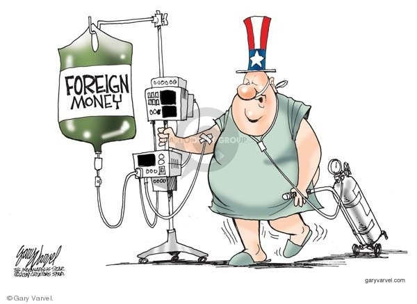 Gary Varvel  Gary Varvel's Editorial Cartoons 2009-04-27 federal budget