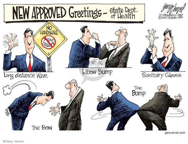 Cartoonist Gary Varvel  Gary Varvel's Editorial Cartoons 2009-04-29 infection