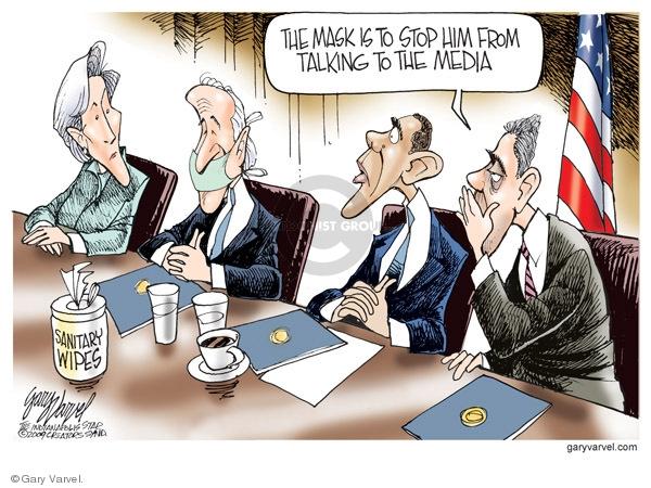 Gary Varvel  Gary Varvel's Editorial Cartoons 2009-05-01 swine flu