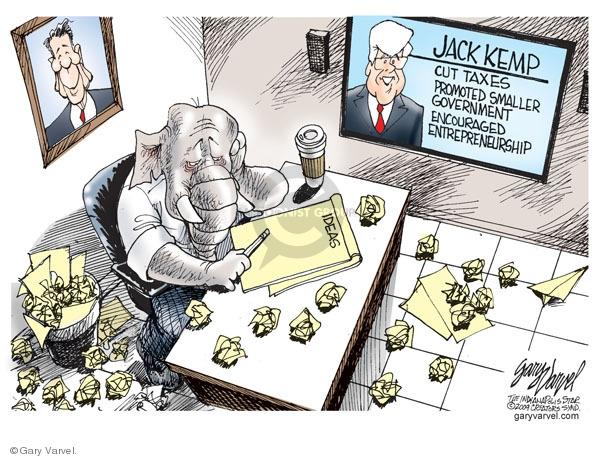 Gary Varvel  Gary Varvel's Editorial Cartoons 2009-05-06 republican party