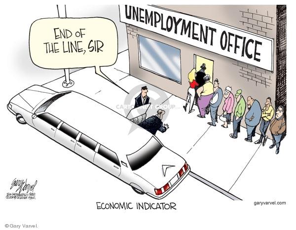 Cartoonist Gary Varvel  Gary Varvel's Editorial Cartoons 2009-05-10 economy