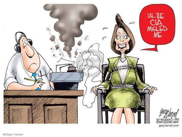 Cartoonist Gary Varvel  Gary Varvel's Editorial Cartoons 2009-05-15 CIA