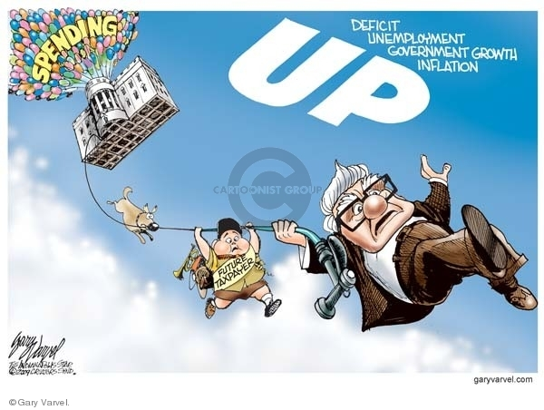 Cartoonist Gary Varvel  Gary Varvel's Editorial Cartoons 2009-06-09 economy