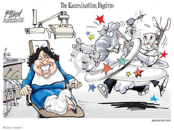 Gary Varvel  Gary Varvel's Editorial Cartoons 2009-07-14 examination
