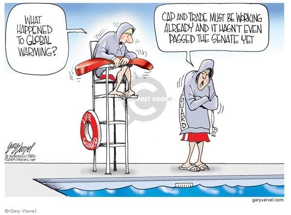 Cartoonist Gary Varvel  Gary Varvel's Editorial Cartoons 2009-07-27 temperature