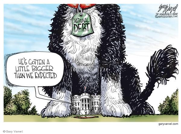 Gary Varvel  Gary Varvel's Editorial Cartoons 2009-08-26 federal budget