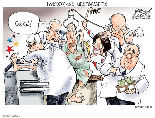Gary Varvel  Gary Varvel's Editorial Cartoons 2009-08-31 cure