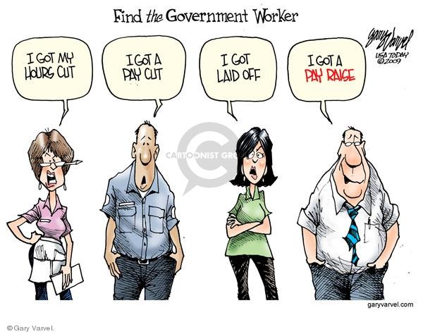 Cartoonist Gary Varvel  Gary Varvel's Editorial Cartoons 2009-09-01 economy