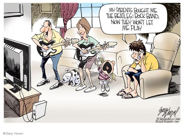 Gary Varvel  Gary Varvel's Editorial Cartoons 2009-09-10 baby boomer
