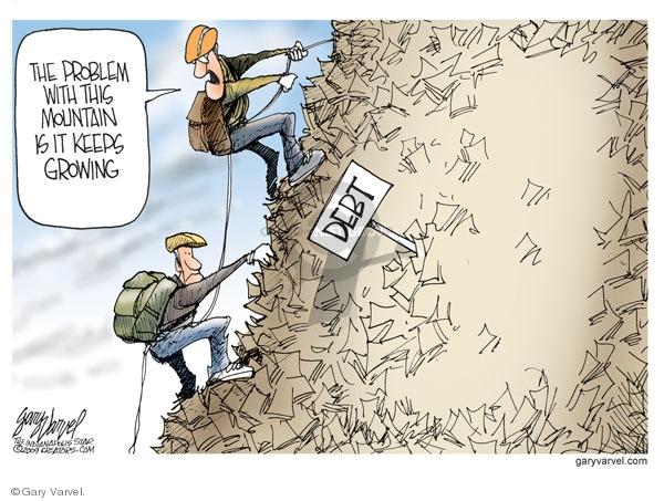 Cartoonist Gary Varvel  Gary Varvel's Editorial Cartoons 2009-09-14 economy