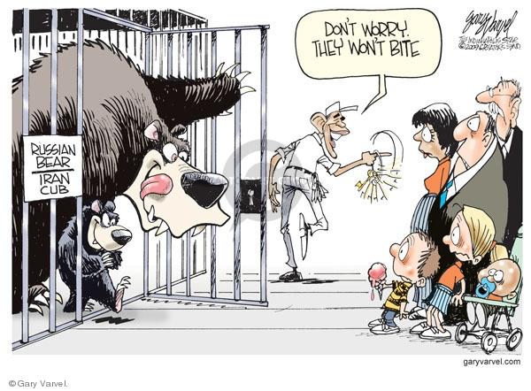 Cartoonist Gary Varvel  Gary Varvel's Editorial Cartoons 2009-09-18 worry