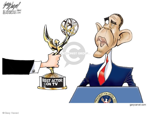 Cartoonist Gary Varvel  Gary Varvel's Editorial Cartoons 2009-09-22 NBC