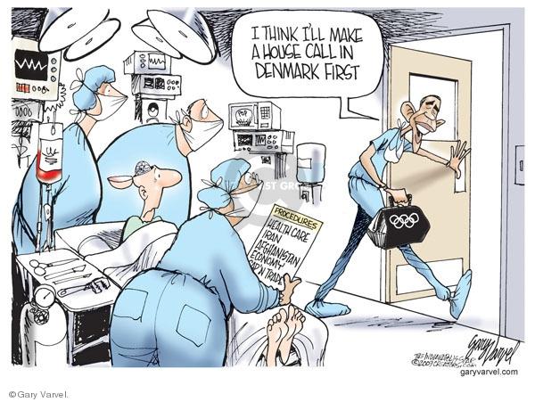 Gary Varvel  Gary Varvel's Editorial Cartoons 2009-09-30 global economy