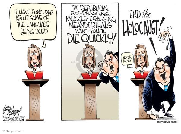 Cartoonist Gary Varvel  Gary Varvel's Editorial Cartoons 2009-10-02 house