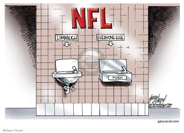 Gary Varvel  Gary Varvel's Editorial Cartoons 2009-10-16 racism