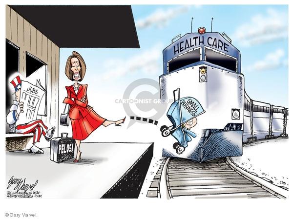 Cartoonist Gary Varvel  Gary Varvel's Editorial Cartoons 2009-11-03 house