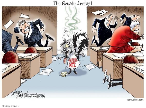 Cartoonist Gary Varvel  Gary Varvel's Editorial Cartoons 2009-11-10 congress health care