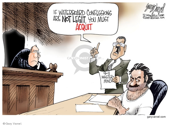 Cartoonist Gary Varvel  Gary Varvel's Editorial Cartoons 2009-11-16 evidence