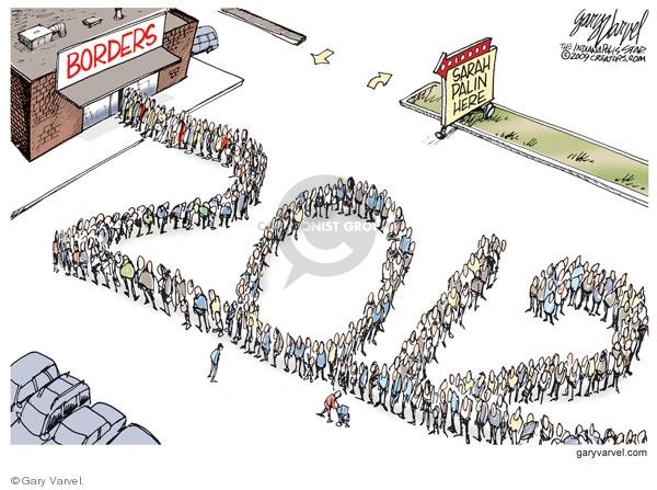 Cartoonist Gary Varvel  Gary Varvel's Editorial Cartoons 2009-11-20 store