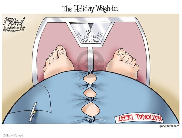 Gary Varvel  Gary Varvel's Editorial Cartoons 2009-11-28 trillion