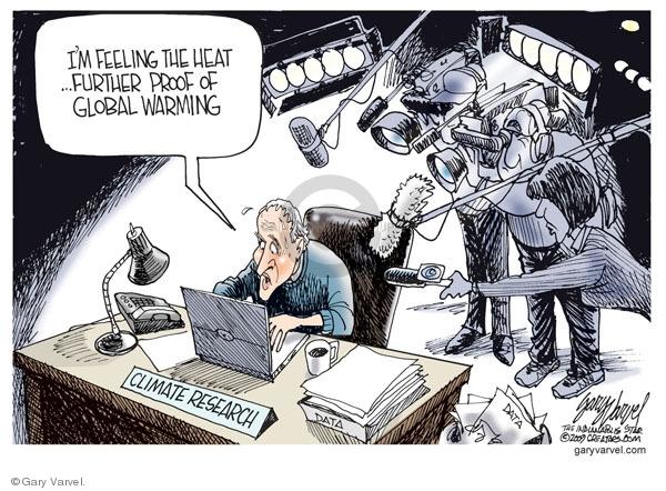 Cartoonist Gary Varvel  Gary Varvel's Editorial Cartoons 2009-12-02 temperature