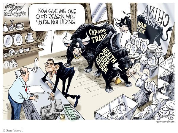 Gary Varvel  Gary Varvel's Editorial Cartoons 2009-12-04 global economy