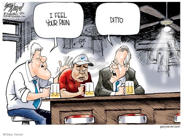 Cartoonist Gary Varvel  Gary Varvel's Editorial Cartoons 2009-12-07 marriage