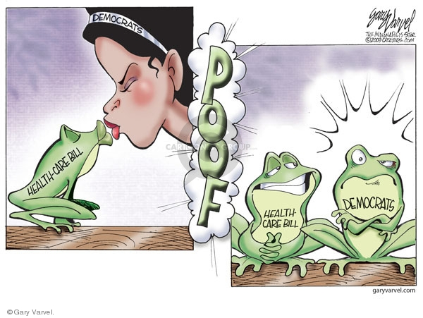 Cartoonist Gary Varvel  Gary Varvel's Editorial Cartoons 2009-12-10 Congress