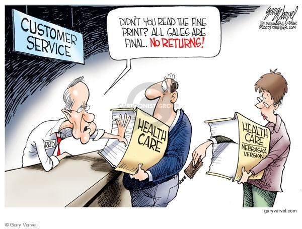 Cartoonist Gary Varvel  Gary Varvel's Editorial Cartoons 2009-12-24 Congress