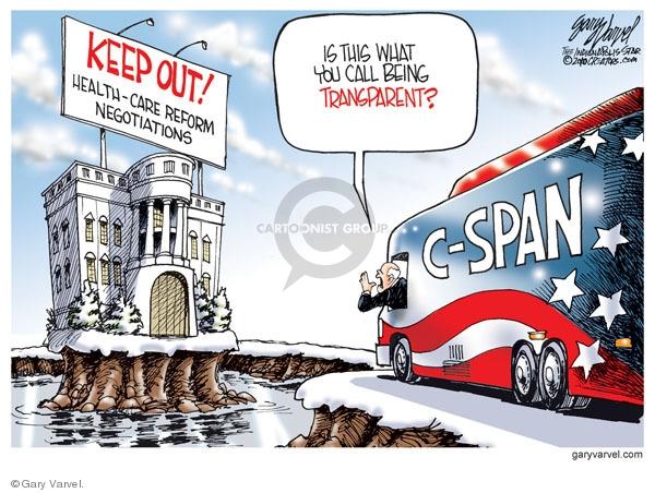 Cartoonist Gary Varvel  Gary Varvel's Editorial Cartoons 2010-01-06 house