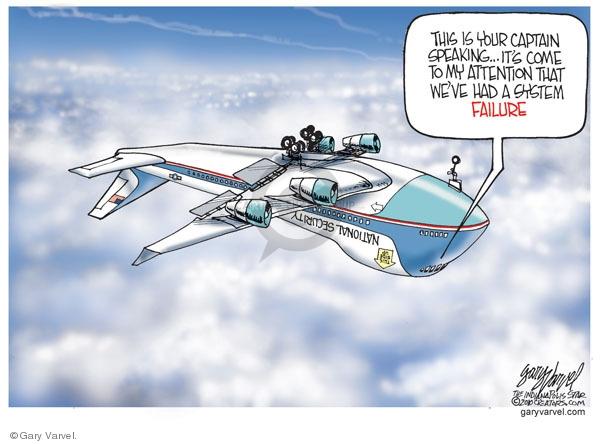 Gary Varvel  Gary Varvel's Editorial Cartoons 2010-01-07 homeland