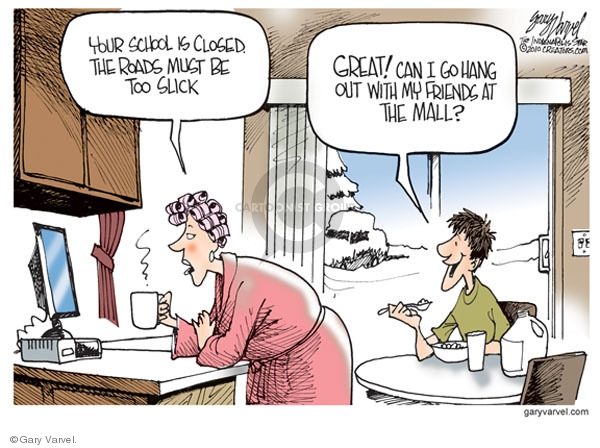 Cartoonist Gary Varvel  Gary Varvel's Editorial Cartoons 2010-01-11 winter storm