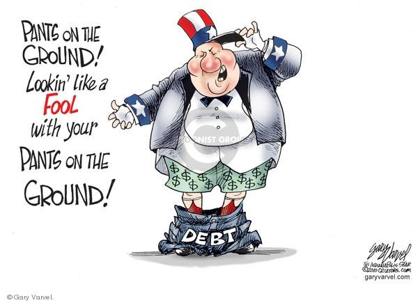 Cartoonist Gary Varvel  Gary Varvel's Editorial Cartoons 2010-01-22 dollar