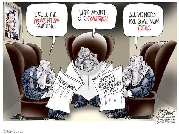 Gary Varvel  Gary Varvel's Editorial Cartoons 2010-01-27 republican party