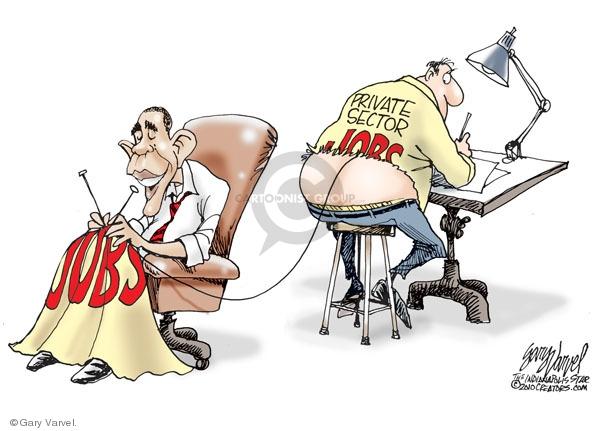 Cartoonist Gary Varvel  Gary Varvel's Editorial Cartoons 2010-02-03 budget