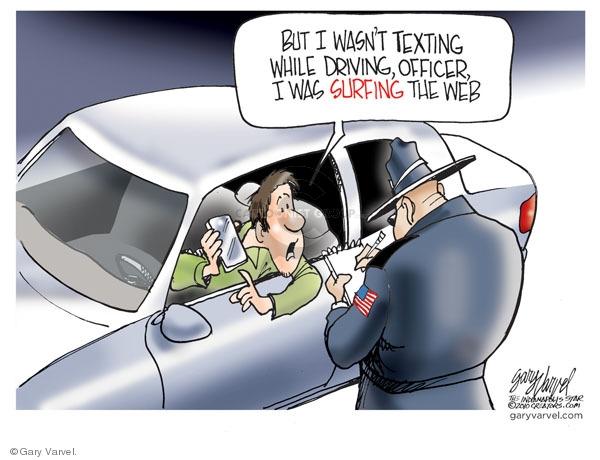 Gary Varvel  Gary Varvel's Editorial Cartoons 2010-02-14 safety